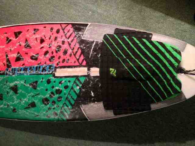 Liam Murray Strout's set up with the Lunasurf 7 piece tail pad