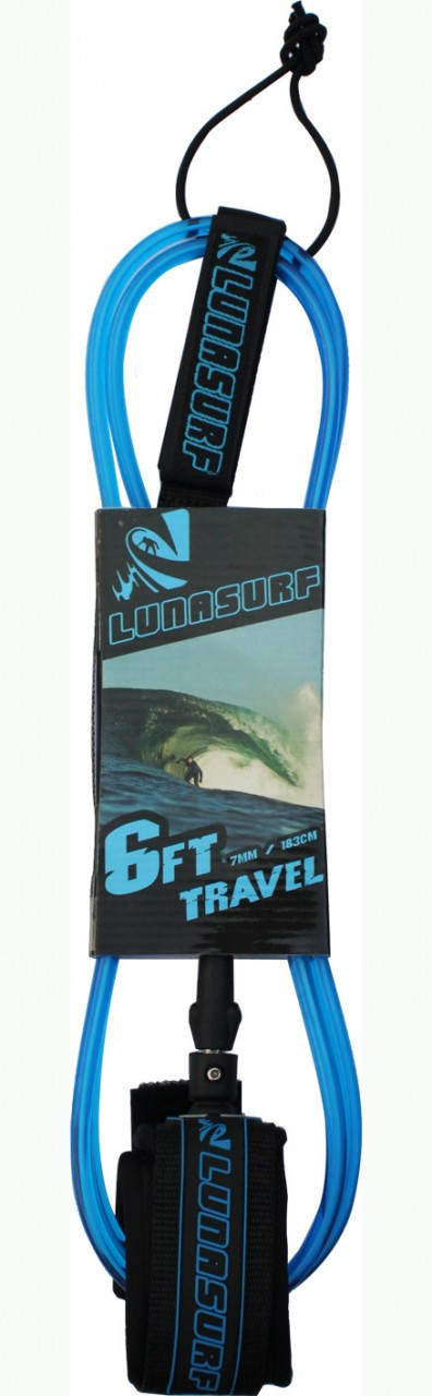 The six foot Lunasurf Travel Leash, click the shot to check out the full range of Leashes.