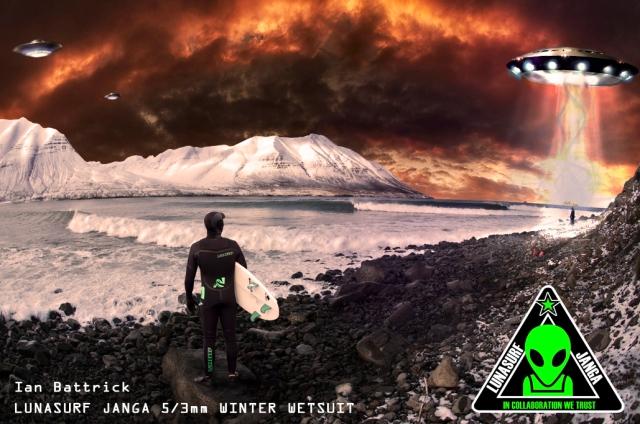 Lunasurf and Janga wetsuit collaboration 5/3 and 4/3