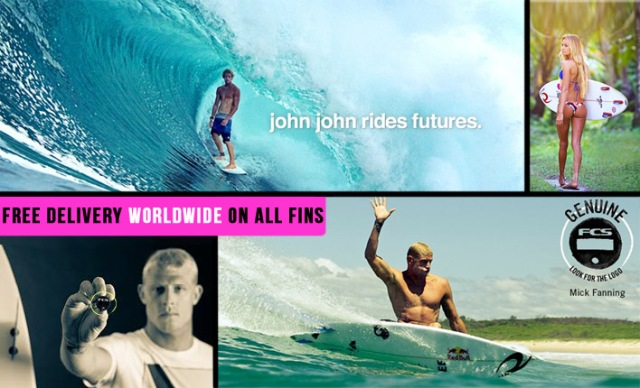 Click the shot to see our range of Futures Fins