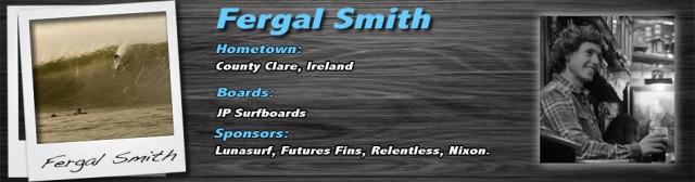 Fergal smith Lunasurf ambassador