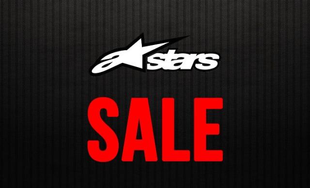 All Alpinestars gear now on sale at Lunasurf.